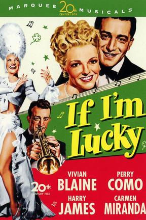 poster for If I'm Lucky