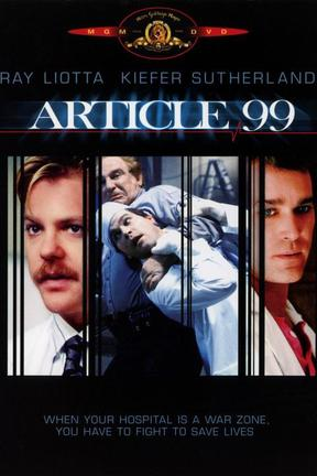 poster for Article 99