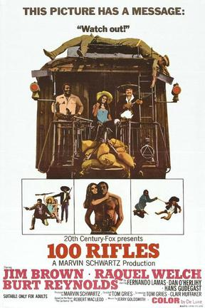 poster for 100 Rifles