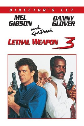 poster for Lethal Weapon 3