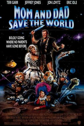 poster for Mom and Dad Save the World