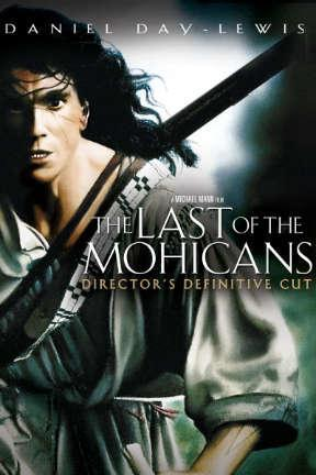 poster for The Last of the Mohicans
