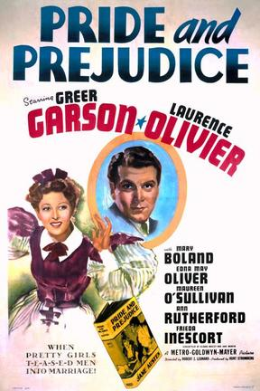 poster for Pride and Prejudice