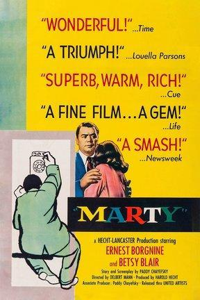 poster for Marty