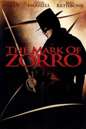 poster for The Mark of Zorro