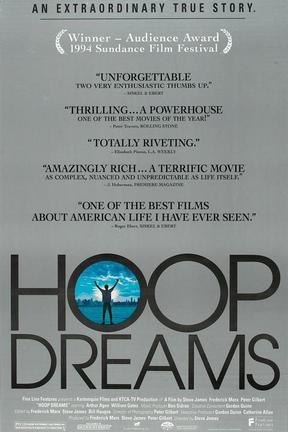 poster for Hoop Dreams