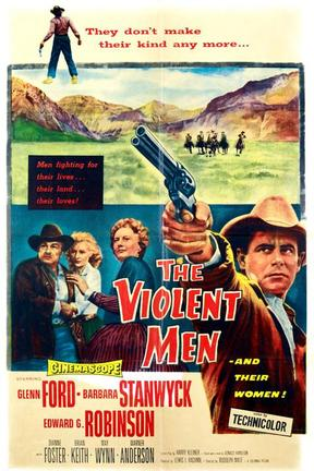 poster for The Violent Men