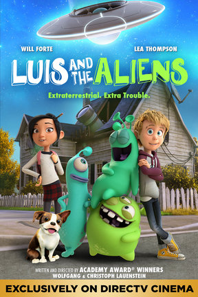 poster for Luis and the Aliens