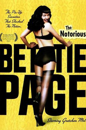 poster for The Notorious Bettie Page