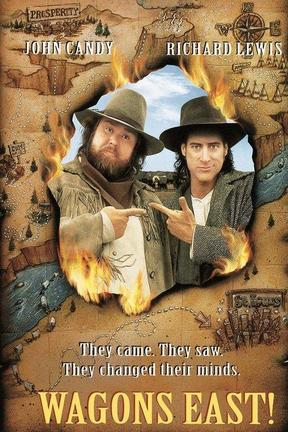 poster for Wagons East!