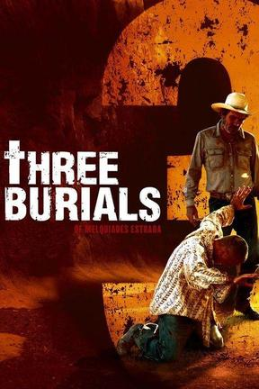 poster for The Three Burials of Melquiades Estrada