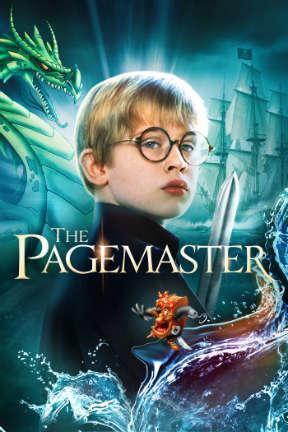 poster for The Pagemaster