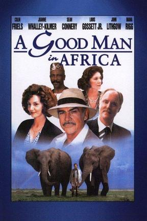 poster for A Good Man in Africa