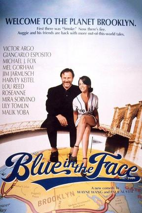 poster for Blue in the Face
