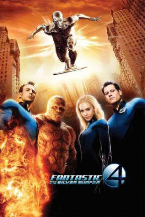 poster for Fantastic Four: Rise of the Silver Surfer