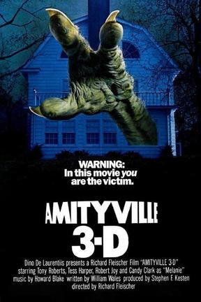 poster for Amityville 3-D