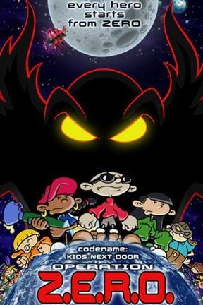 poster for Codename: Kids Next Door: Operation Z.E.R.O.