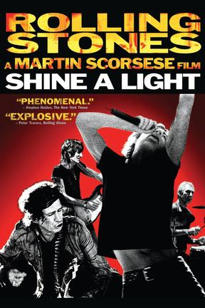 poster for Shine a Light
