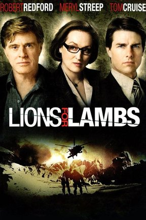 poster for Lions for Lambs