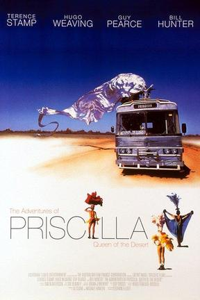 poster for The Adventures of Priscilla, Queen of the Desert