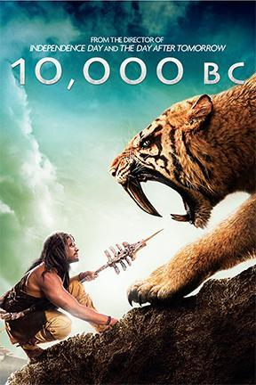 poster for 10,000 B.C.