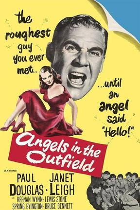 poster for Angels in the Outfield