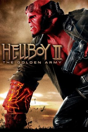 poster for Hellboy II: The Golden Army