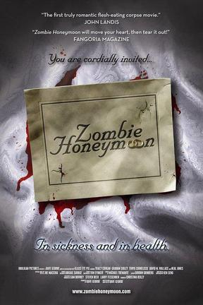 poster for Zombie Honeymoon