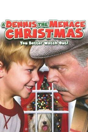 poster for A Dennis the Menace Christmas