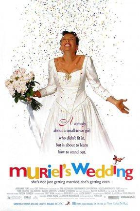 poster for Muriel's Wedding