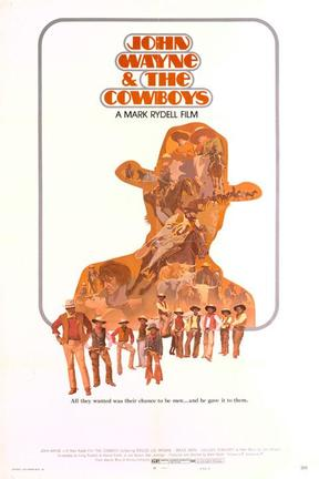 poster for The Cowboys