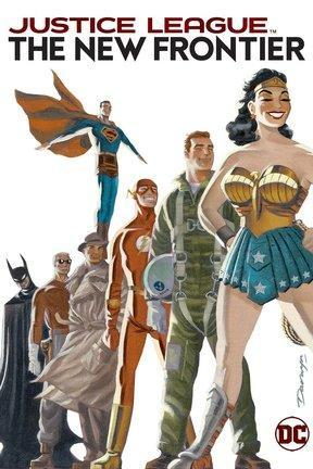 poster for Justice League: The New Frontier