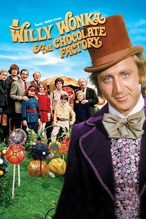 poster for Willy Wonka and the Chocolate Factory