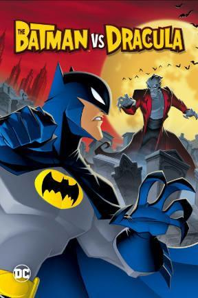 poster for The Batman vs. Dracula