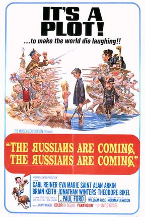 poster for The Russians Are Coming, the Russians Are Coming