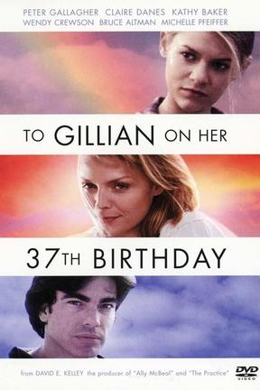 poster for To Gillian on Her 37th Birthday