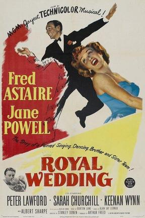 poster for Royal Wedding