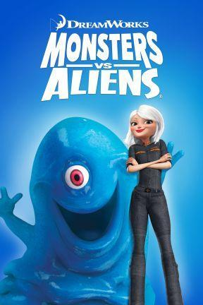 poster for Monsters vs. Aliens