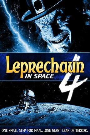 poster for Leprechaun 4 in Space