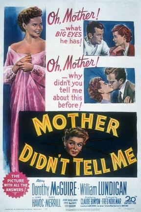 poster for Mother Didn't Tell Me
