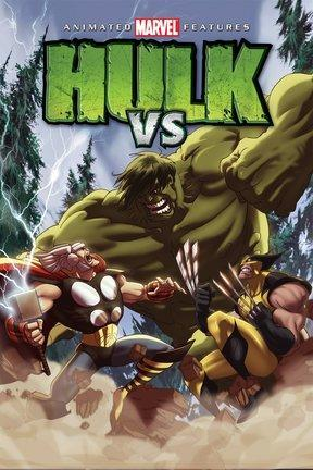 poster for Hulk Vs.
