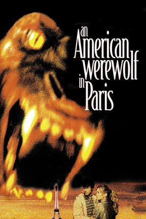 poster for An American Werewolf in Paris