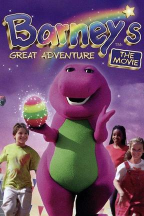 poster for Barney's Great Adventure