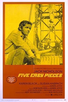 poster for Five Easy Pieces