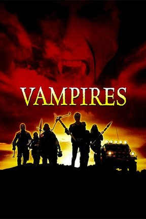 poster for John Carpenter's Vampires