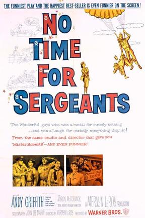 poster for No Time for Sergeants