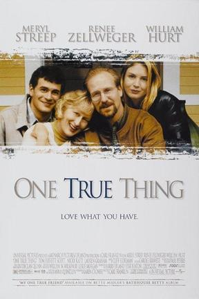 poster for One True Thing