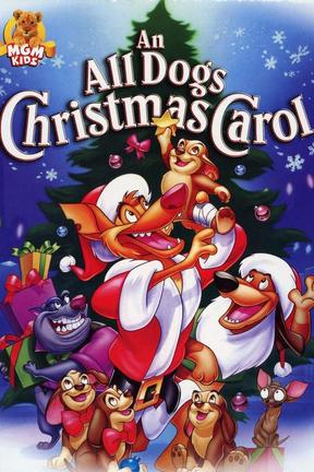 poster for An All Dogs Christmas Carol