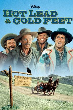 poster for Hot Lead and Cold Feet