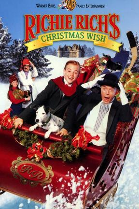 poster for Richie Rich's Christmas Wish